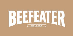 Beefeater Gin Tafel Tattoo Fan Logo